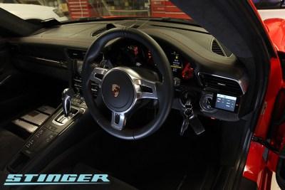 Stinger VIP in Porsche GT3