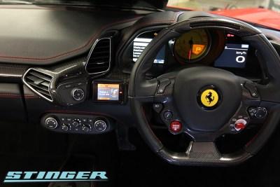 Ferrari 458 Spyder with Stinger VIP