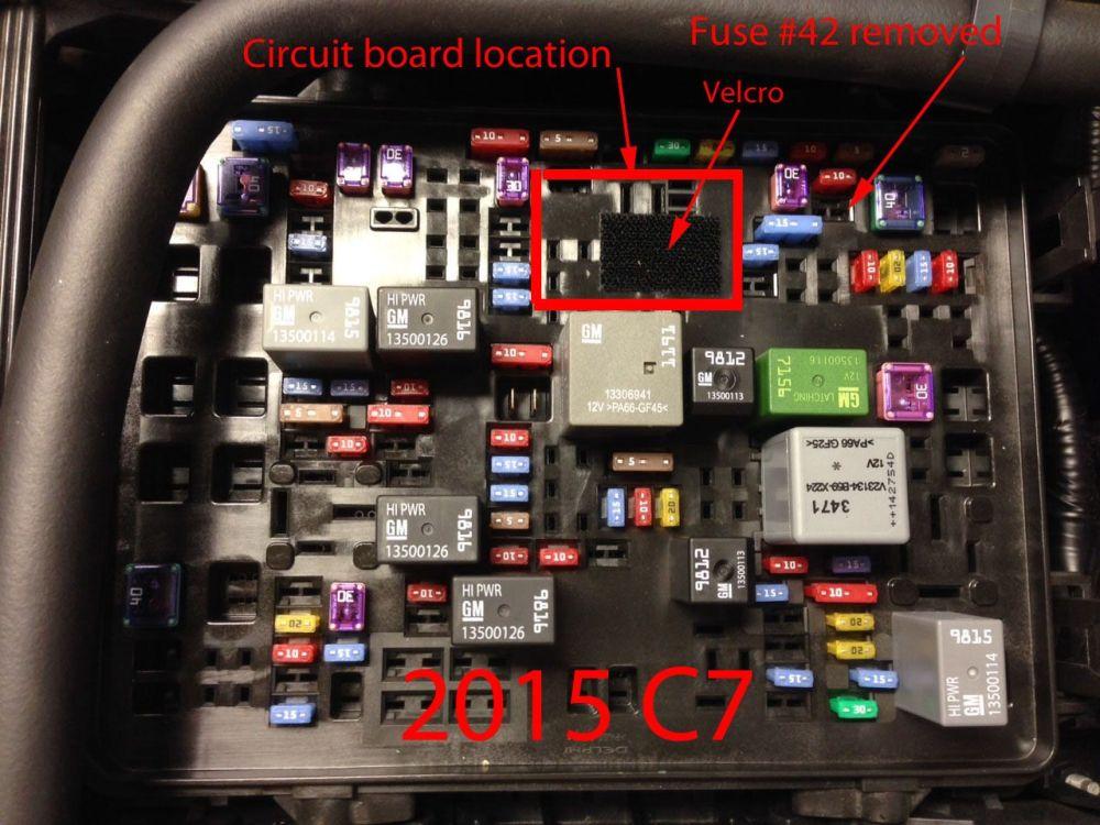 medium resolution of c7 corvette fuse box wiring diagram showc7 corvette fuse box