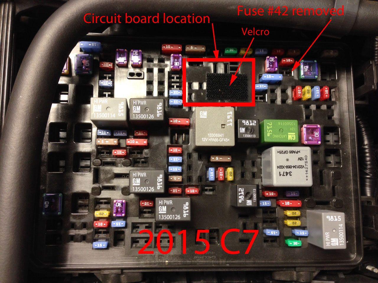 hight resolution of c7 corvette fuse box wiring diagram showc7 corvette fuse box