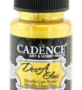 Cadence Dora Glas & Porselein verf Metallic Rich gold