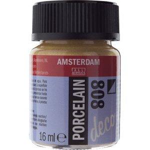 Amsterdam Deco Porselein Goud Dekkend 16 ML Kleur 808