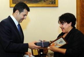 Daniel Constantin s-a intalnit cu ministrul Agriculturii din Olanda, Sharon Dijksma