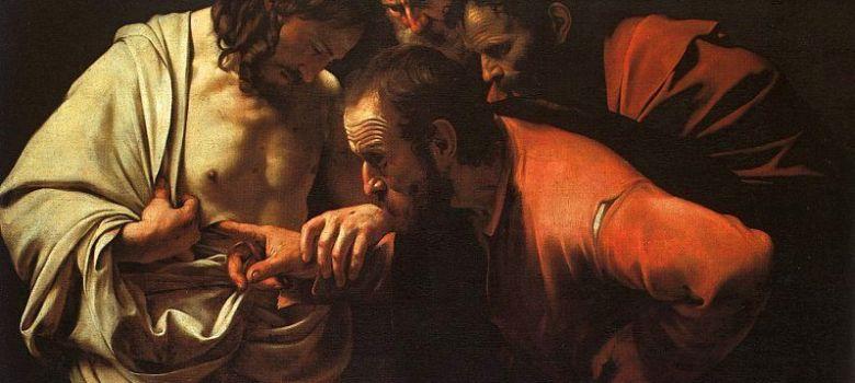 Înviere, Cruce, Apostoli, Toma necredinciosul