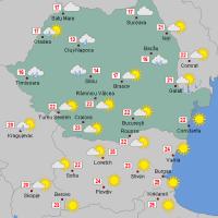 Prognoza meteo Romania 24 Octombrie 2020 #Romania #vremea