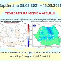 Prognoza meteo Romania 8 Martie - 5 Aprilie 2021 #primăvară