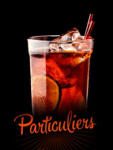 Bar à cocktails particuliers