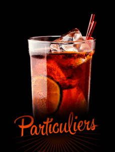 Bar à cocktails particuliers
