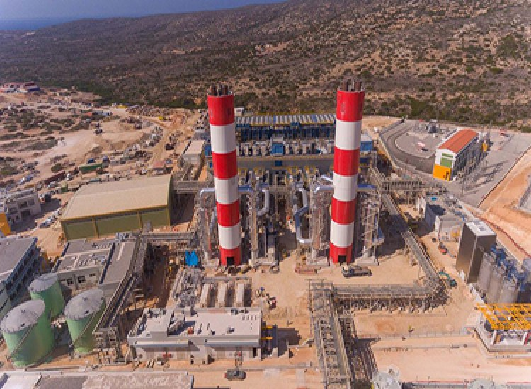 South Rhodes Power Plant For Public Power Company