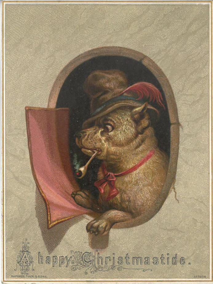Christmas Countdown 19th Century Christmas Cards