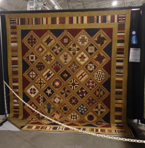 Blue Ribbon Winner at Pennsylvania National Quilt Show