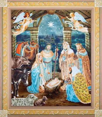Diamond Dotz Nativity Scene Needleart World Gt Groot
