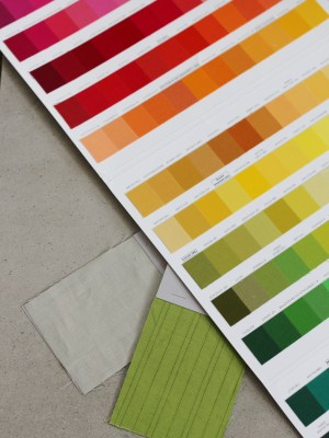 Order Colour Swatches from Stitched