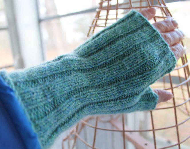 Pioneer glove using North Light Fibers