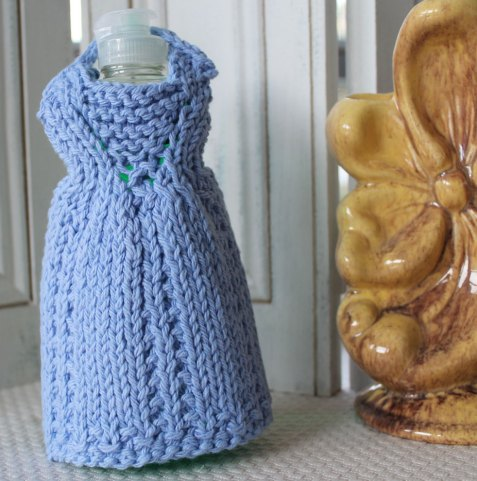 Knitted Dishcloth Patterns Wedding : More Dishcloth Dress Knitting Patterns   Stitches by Debbie