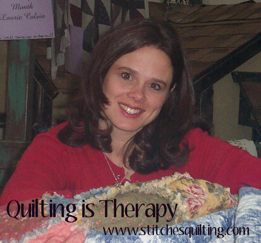 Quilting is Therapy Stitches Quilting