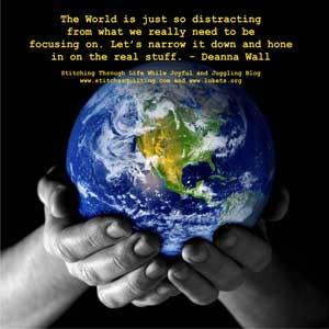 Distracting-World-web