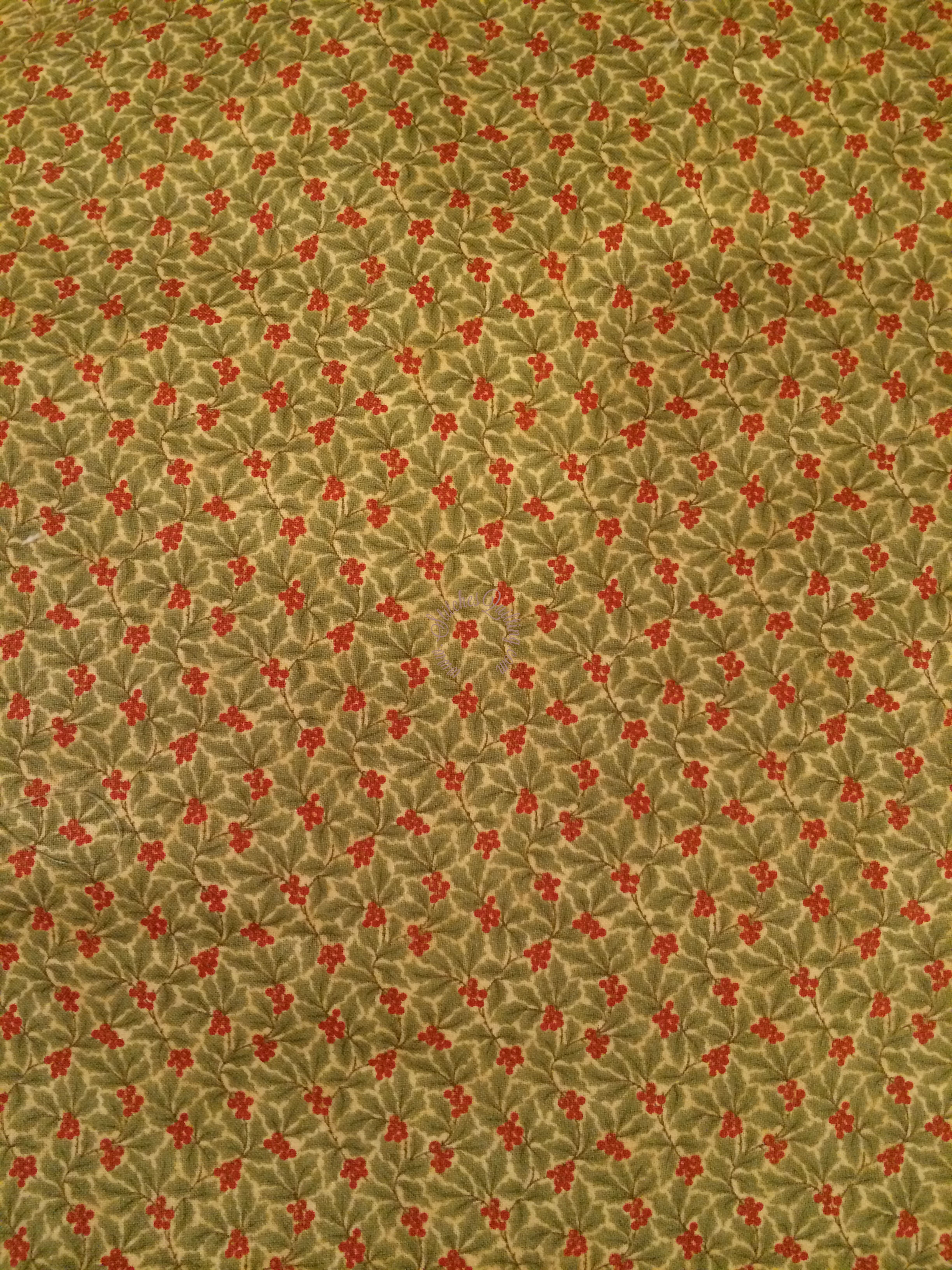 Mistletoe Fabric Peace On Earth 3 Sisters Moda Stitches Quilting