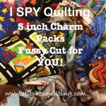 Easily make an I SPY quilt with 5 inch I SPY CHARM PACK QUILTING