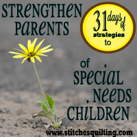 Strategies to Strengthen Parents of Special Needs
