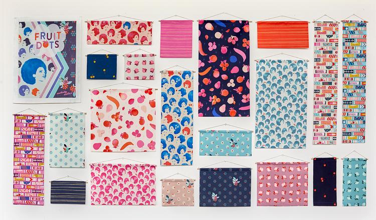 Cotton Steel Fruit Dots Melody Miller Fat Quarter Fabric