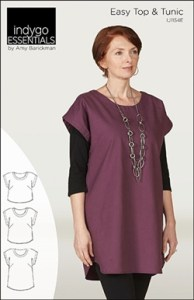 Indygo Essentials Easy Top & Tunic Sewing Pattern