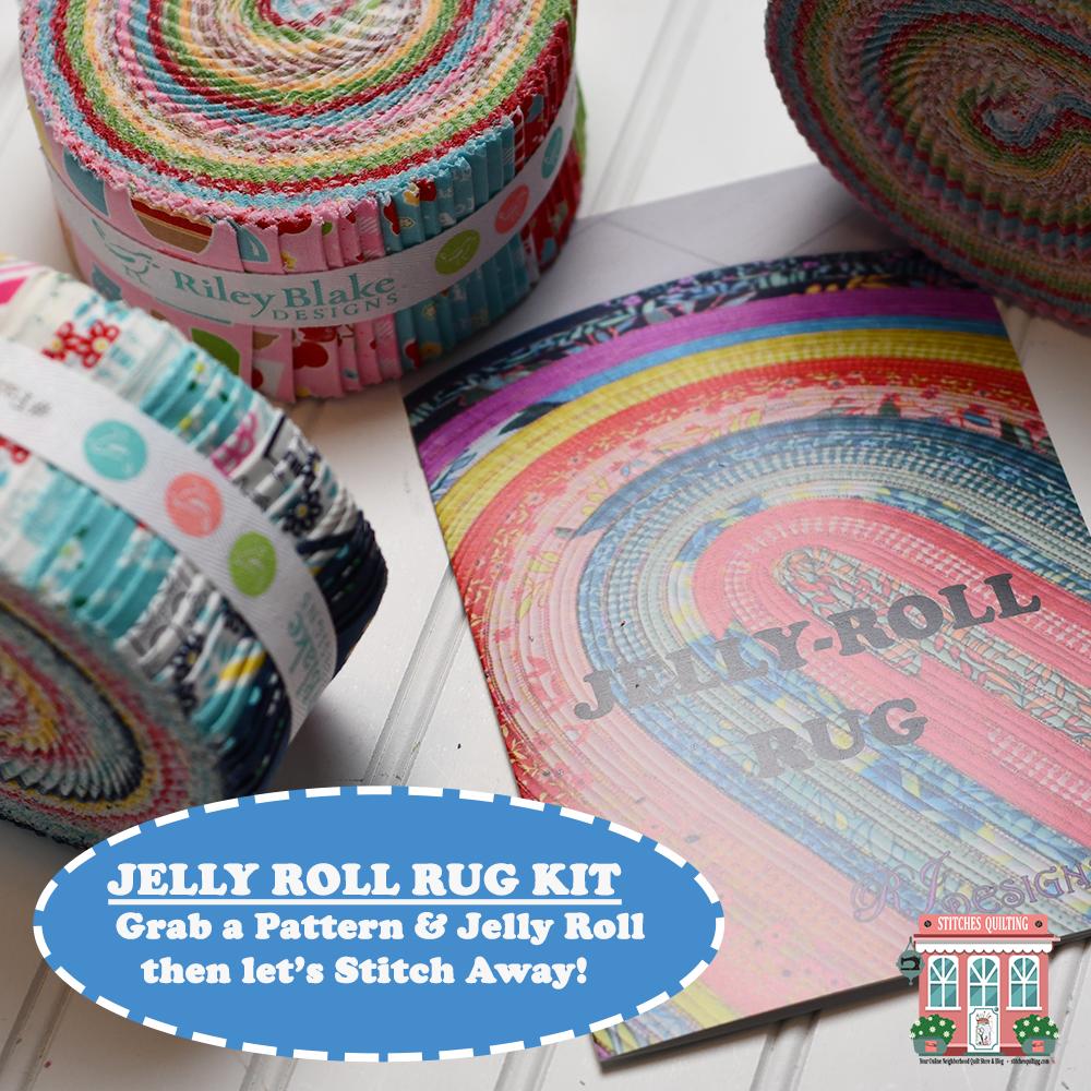 Jelly Roll Rug Precut Menu A La Carte Stitches Quilting