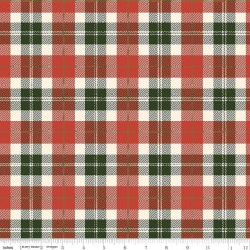 Flannel F47775 Red And Green Plaid