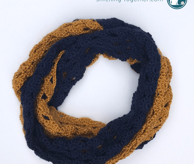 The Rival Crochet Infinity Scarf