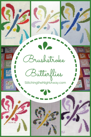 brushstroke butterfly free cross stitch pattern gallery
