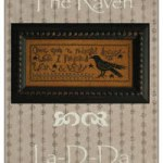 The Raven by La D Da cross stitch