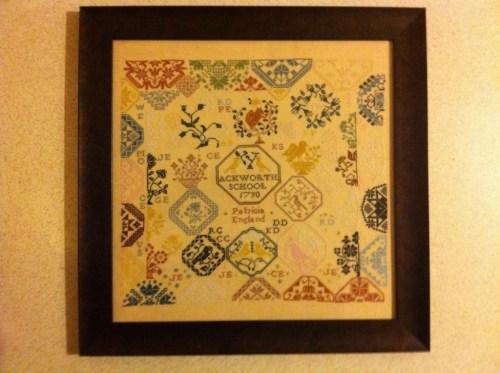 Pattis Mary Wigham Cross Stitch Sampler