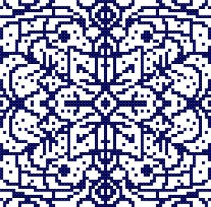 Winter Days Free Cross Stitch Pattern Preview