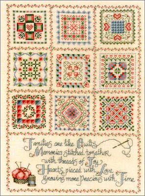 Threads of Joy Cross Stitch Pattern by Ursula Michael Designs