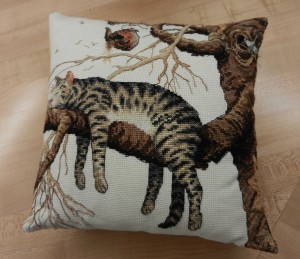 Cross-Stitch-Pillow