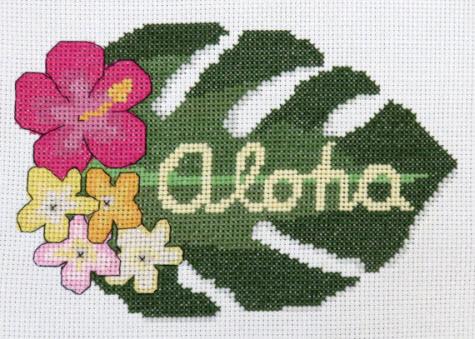 Aloha by Camp Cross Stitch