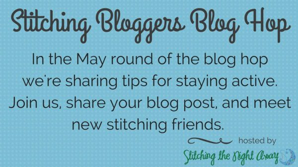 stitching bloggers blog hop 22 staying active