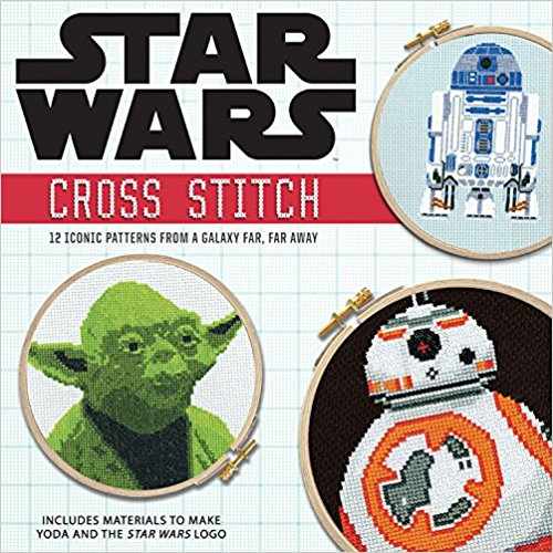 star wars cross stitch book