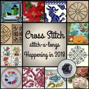 Cross Stitch SALs Happening in 2018