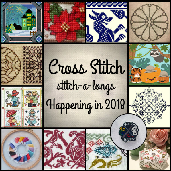 Cross Stitch SALs Happening in 2018