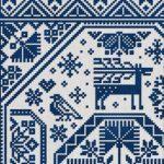 modern folk embroidery mystery quaker stitch a long
