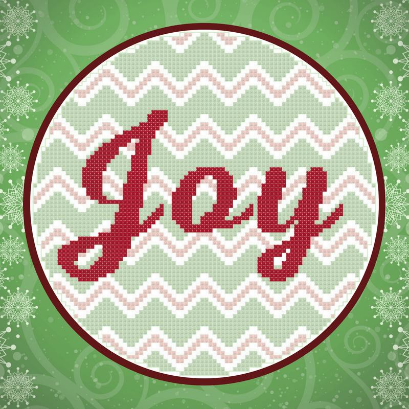 Joy Chevron Hoop Pattern