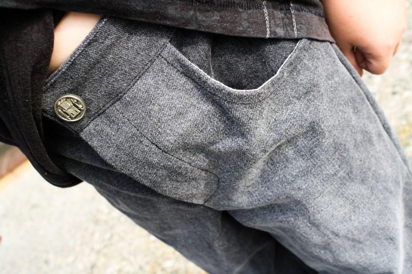 Kids jeans details