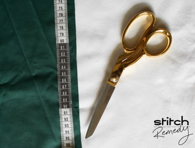 Measuring scout scarf fabric - stitchremedycom
