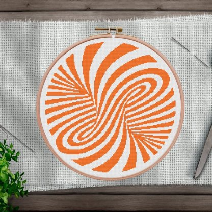 Abstract-Geometry-Modern Cross Stitch Pattern