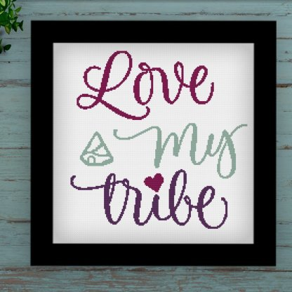 LMT-I- Quote cross stitch pattern