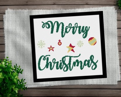 Merry-christmas-Cross-Stitch-Pattern-Etsy