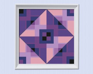 Ultra-violet-cross-stitch-template