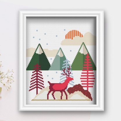 winter-scene-pdf-cross-stitch-pattern