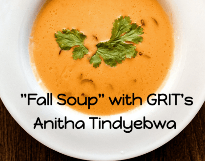 """""""Fall Soup"""" with GRIT Coffee House's Anitha Tindyebwa - Online Kitchen"""